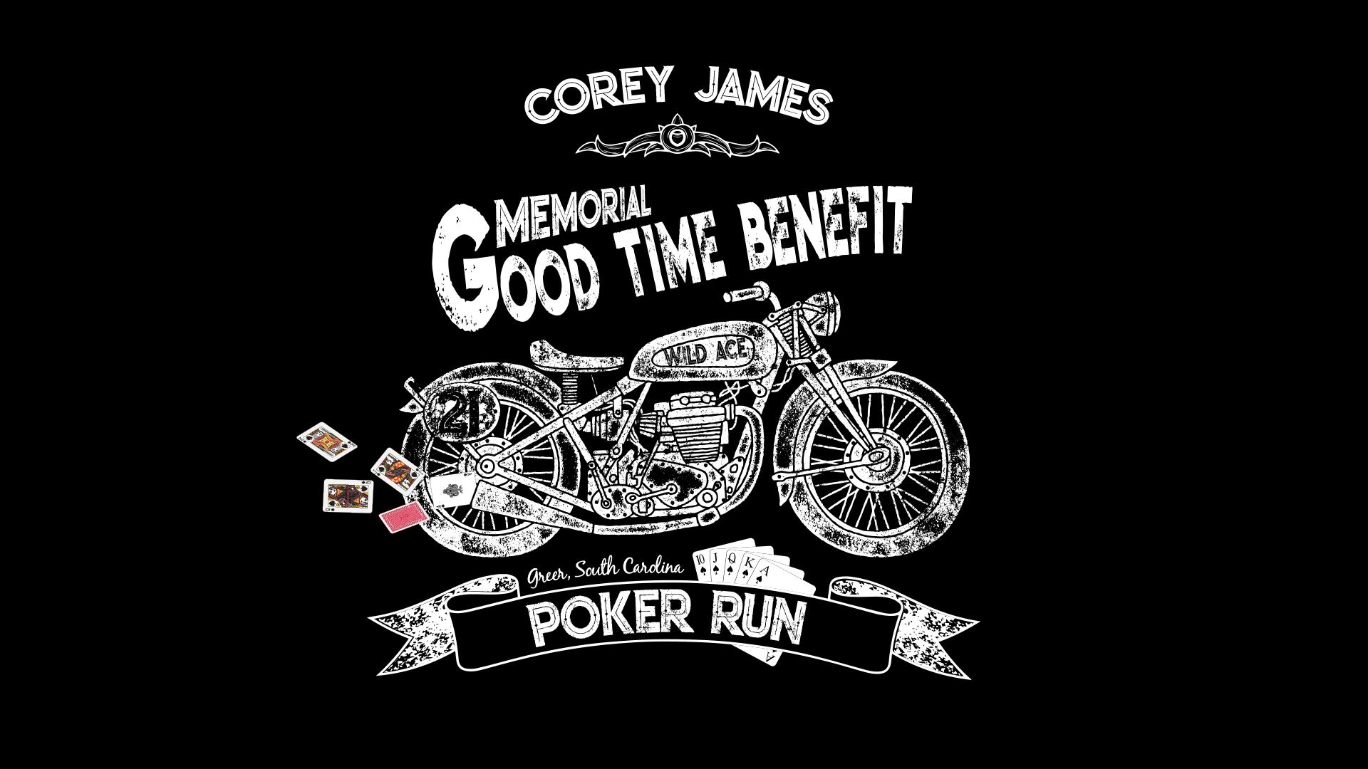 Poker Run Corey James Benefit